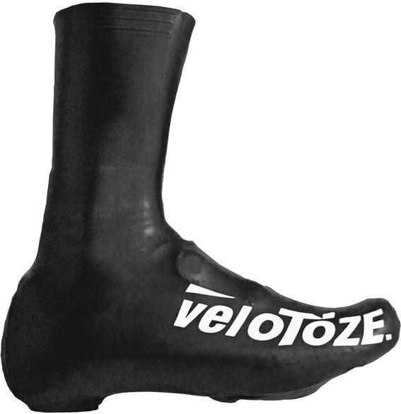 VELOTOZE Shoe Cover Überschuh lang schwarz Gr. L 43 - 46 T2-BLK-001-L